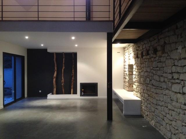 decorateur interieur dijon vue plongeante espace nuit mezzanine architecte d interieur dijon. Black Bedroom Furniture Sets. Home Design Ideas