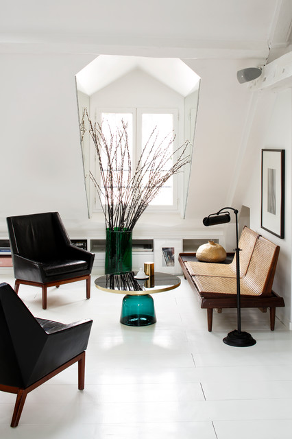 Parisien Room Paris Duplex Living Scandinave Salon Par tsQdCrh