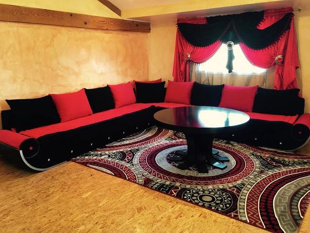 Ealisation salon marocain moderno sal n angers de maroc salons for Avito salon marocain casablanca
