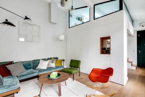 Cette architecte d\'intérieur a métamorphosé cet appartement parisien ...