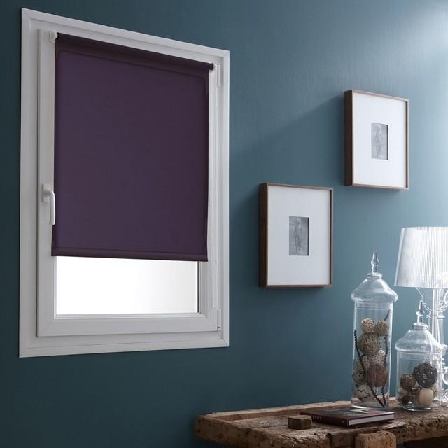 enrouleur occultant store enrouleur occultant prune 85x190cm contemporain salon par alin a. Black Bedroom Furniture Sets. Home Design Ideas