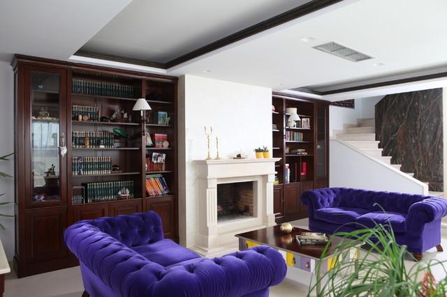 grange project salon classique chic salon paris par grange paris. Black Bedroom Furniture Sets. Home Design Ideas