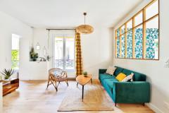 Avant/Après : La campagne s'invite à Paris dans 36 m2