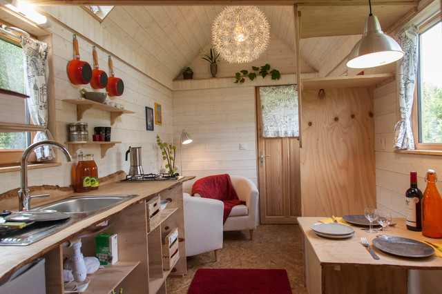 La tiny house t moin eclectic living room other by for 100 sq ft living room design