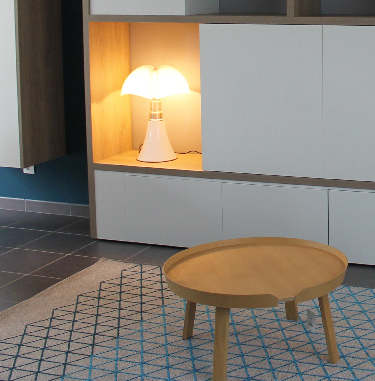 Lampe Pipistrello et Table basse Fluor Luminaires