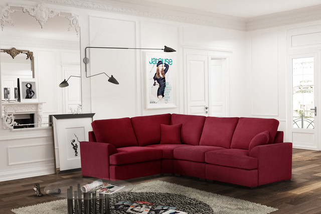 Le canapé d\'angle fixe - Contemporary - Living Room - Paris - by ...