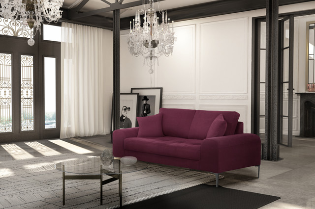 les canap s 2 places contemporary living room paris by corinne cobson home. Black Bedroom Furniture Sets. Home Design Ideas