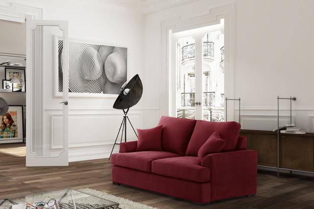 les canap s 2 places classique chic salon paris par jalouse maison. Black Bedroom Furniture Sets. Home Design Ideas