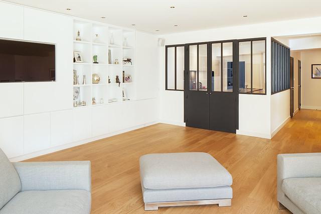 Loft Boulogne-Billancourt - Contemporain - Salon - Paris - par CDA ...