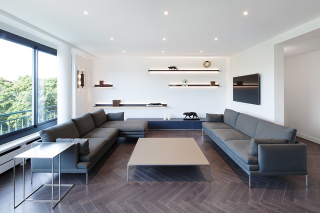 luxe et r sidence contemporary living room paris by cda design
