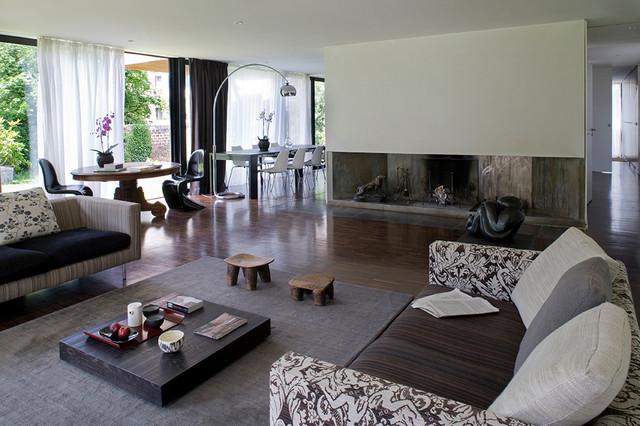 maison contemporaine s vres banlieue chic parisienne. Black Bedroom Furniture Sets. Home Design Ideas