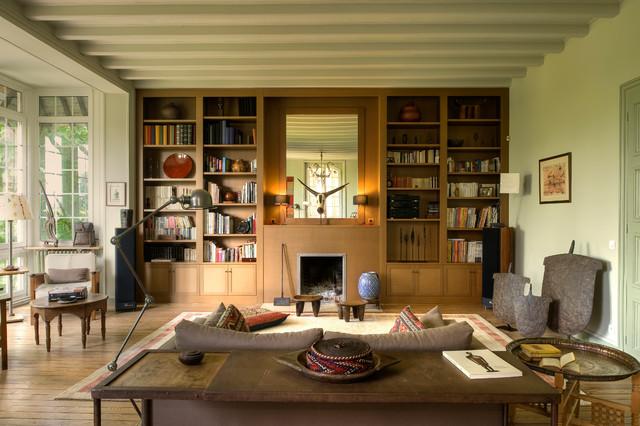 Maison De Famille Eclectic Living Room Paris By