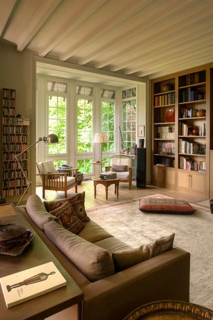 Maison de famille in-campagna-soggiorno