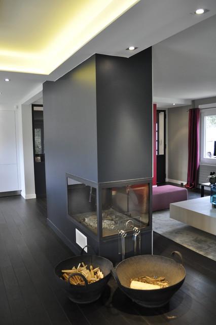 maison familiale contemporaine chemin e. Black Bedroom Furniture Sets. Home Design Ideas