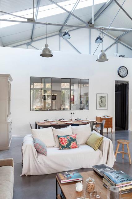 maison loft en r gion parisienne. Black Bedroom Furniture Sets. Home Design Ideas