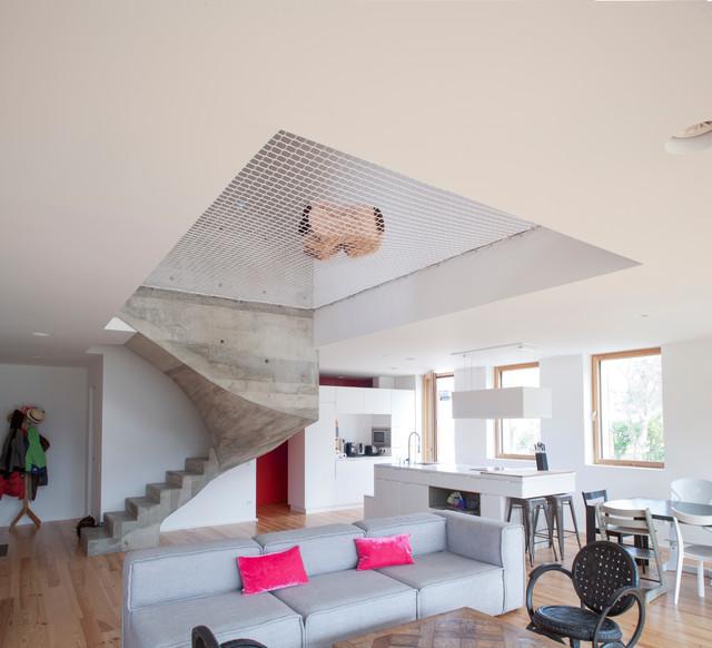 Maison passive arcangues pays basque contemporain - Salon maison passive 2017 ...