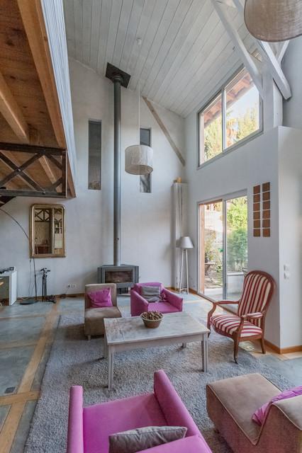 Maison style Industriel, architecte Emilie Dueso - Farmhouse ...