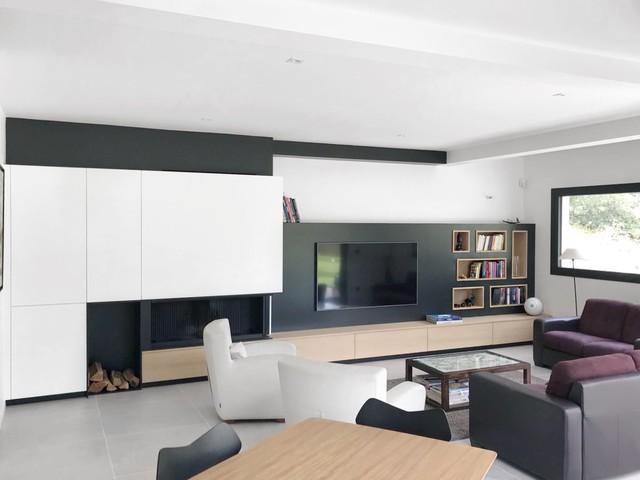 Meuble Sur Mesure Salon Scandinavian Living Room