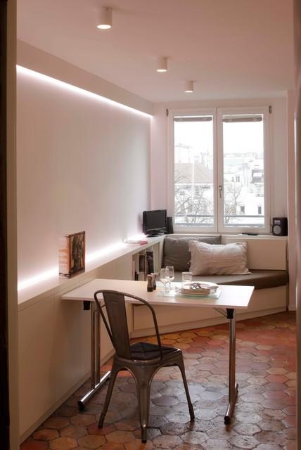 Mini appartement paris 05 contemporain salon paris - Mini appartement ...