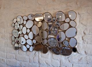 miroir d coratif contemporain salon paris par fables de murs. Black Bedroom Furniture Sets. Home Design Ideas