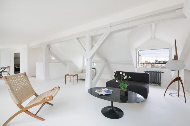 Moderne Salle De Séjour - Moderne - Salon - Autres périmètres