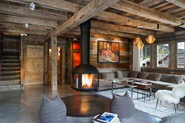 montagne salon. Black Bedroom Furniture Sets. Home Design Ideas