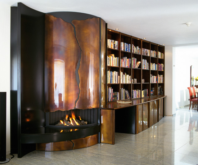 Munchen contemporary-fireplaces
