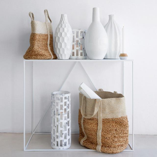 objets d co aux mati res naturelles blanc zen