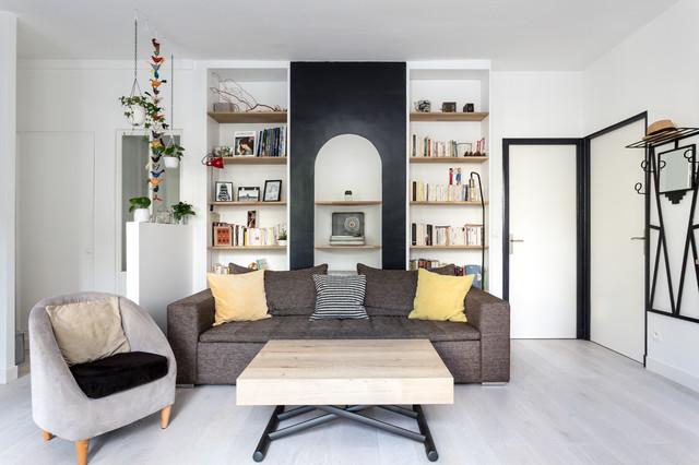 Paris 11 avenue parmentier contemporain salon paris par mon concept habitation - Salon art contemporain paris ...