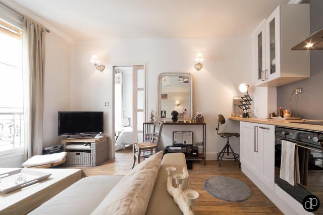 Paris ix appartement 25m2 for Idee deco 25m2