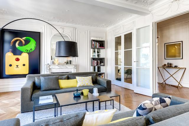 passy paris 16e appartement priv de 160m2 charlotte vauvillier. Black Bedroom Furniture Sets. Home Design Ideas