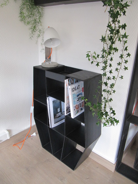 petite console en ardoise pour entr e avec vide poche int gr contemporain salon le havre. Black Bedroom Furniture Sets. Home Design Ideas