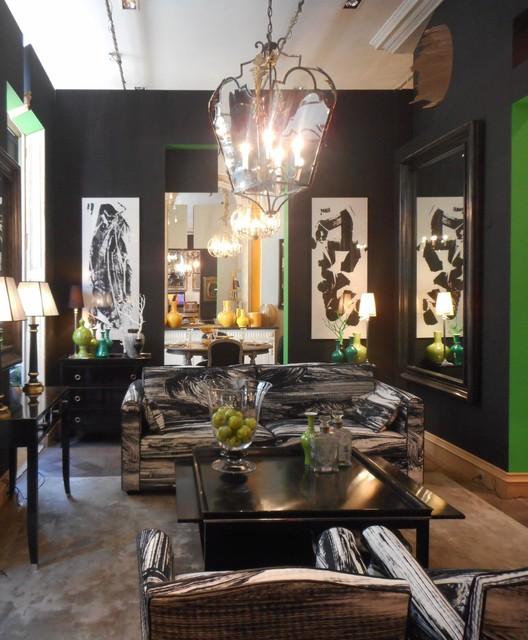 philippe david textiles et r gis dho sc nographie chez mis en demeure contemporary living. Black Bedroom Furniture Sets. Home Design Ideas