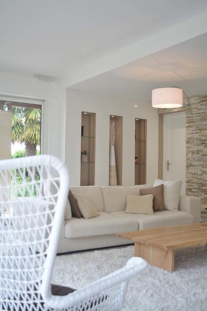Pi ce vivre douce et cosy modern living room - Piece a vivre moderne ...