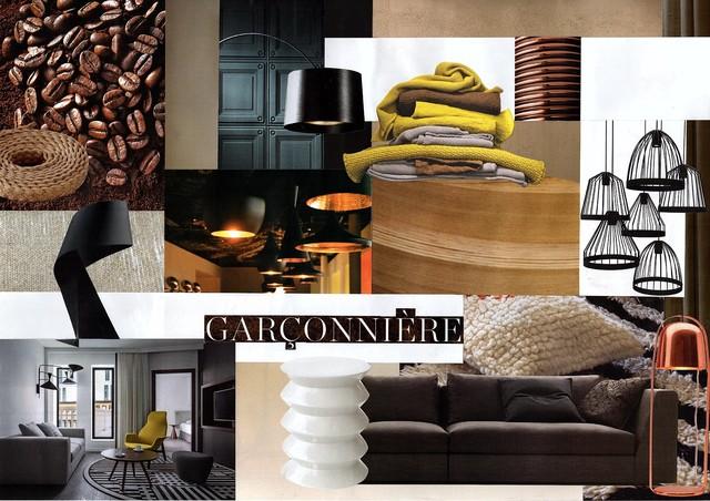 planche d 39 inspiration pi ces vivre contemporain salon paris par mavi d co. Black Bedroom Furniture Sets. Home Design Ideas