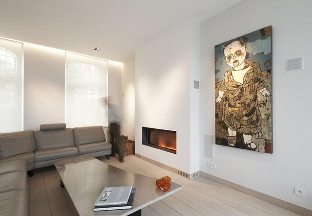 po les et chemin es contemporaines stuv contemporain salon marseille par atre design. Black Bedroom Furniture Sets. Home Design Ideas