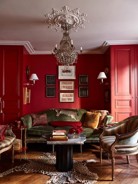 Pr Aux Clercs 5 Traditional Living Room Paris By