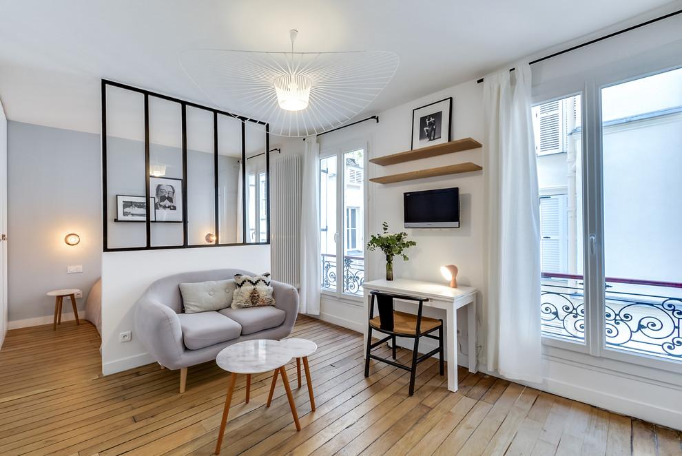 卧室北欧风格效果图大全2017图片_土拨鼠美好清新卧室北欧风格装修设计效果图欣赏
