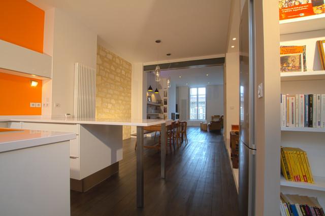 R am nagement d 39 un appartement bordeaux contemporary for Appartement bordeaux 80m2