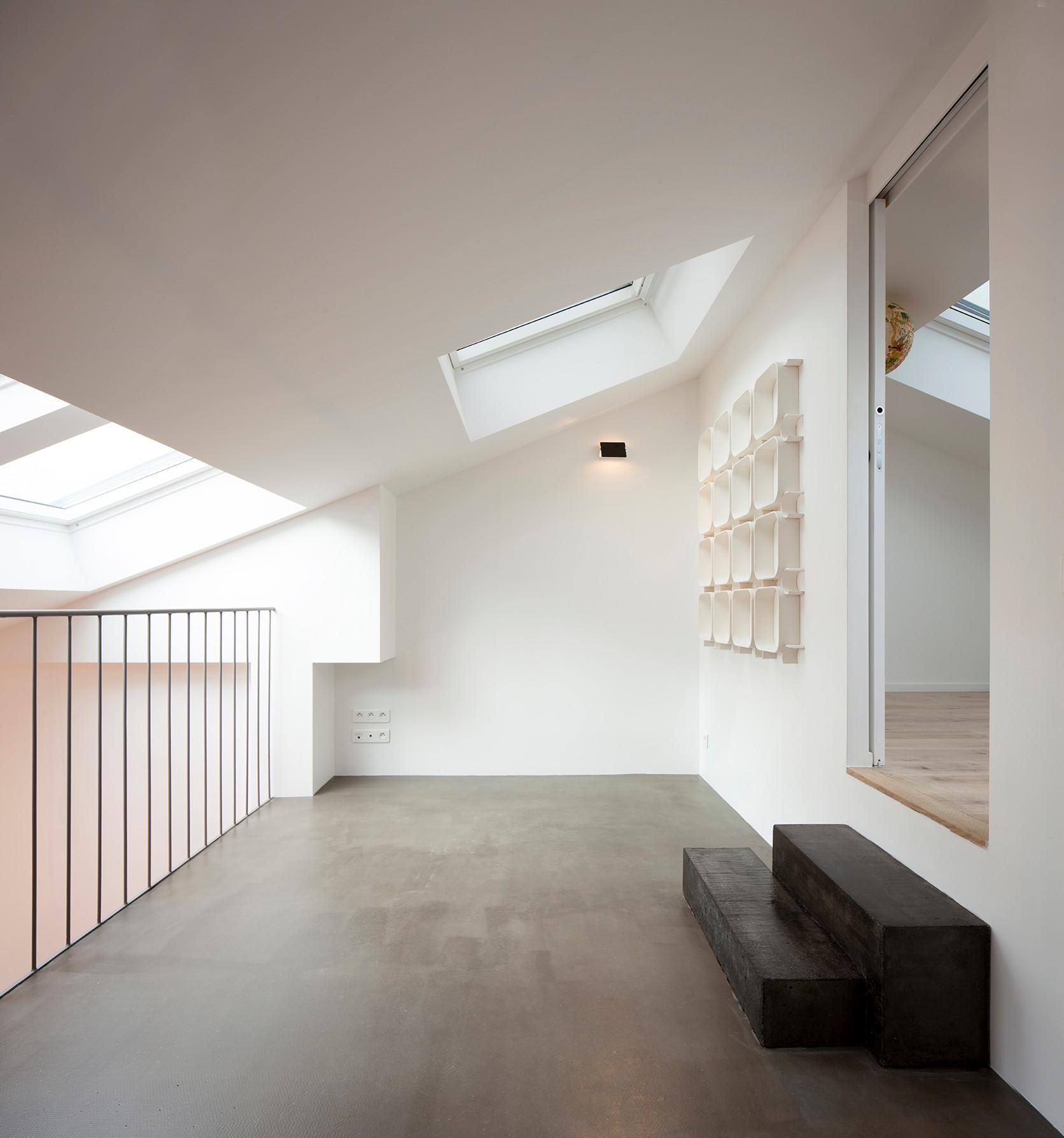 Rénovation complète d'un appartement avec combles