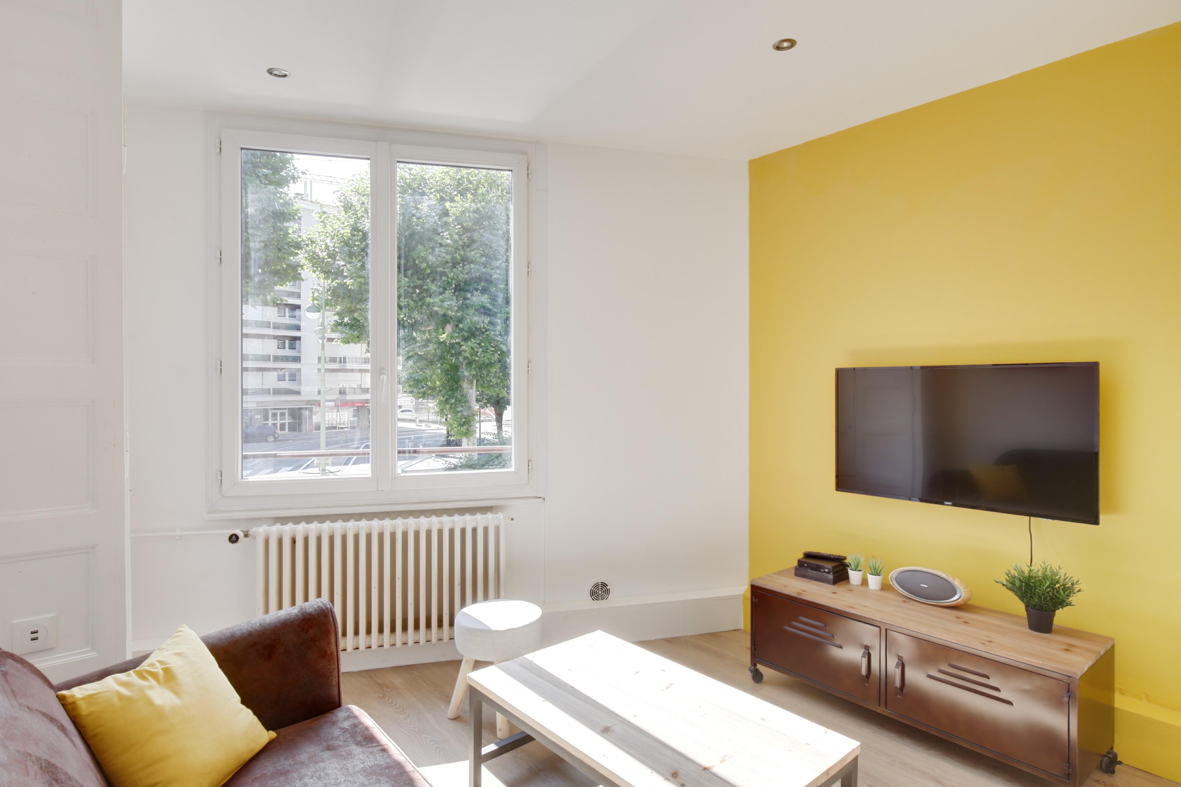 Renovation complete d'un appartement / salon
