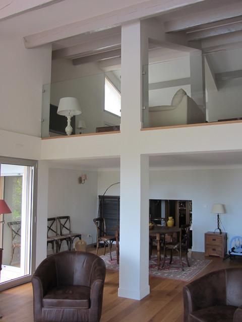 R novation d 39 une maison individuelle sanary sur mer for Salon maison individuelle