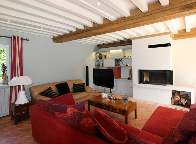 Rénovation intérieure dune maison à colombages