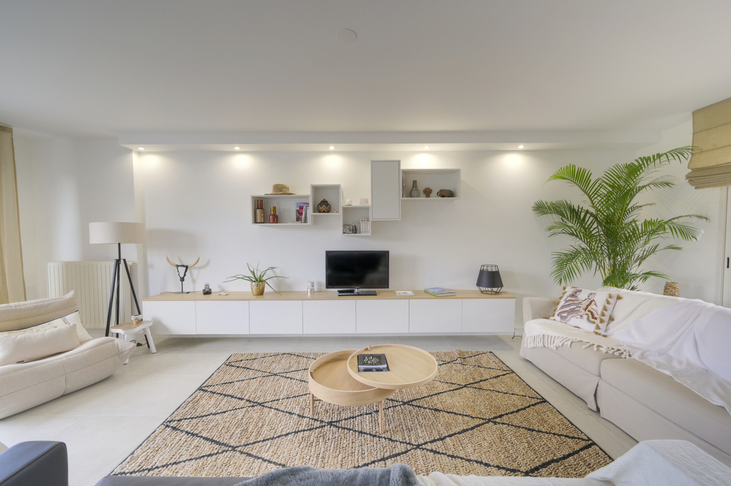 75 Beautiful Ceramic Tile Living Room Pictures Ideas February 2021 Houzz