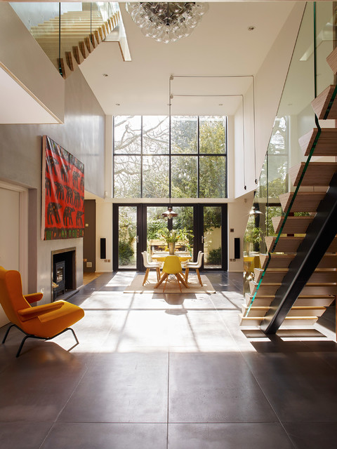 Richmond Contemporary Living Room London By