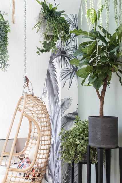 Ispirazione per un soggiorno contemporaneo di medie dimensioni