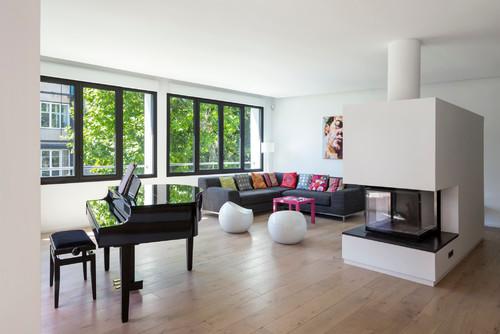 Salon - Appartement P