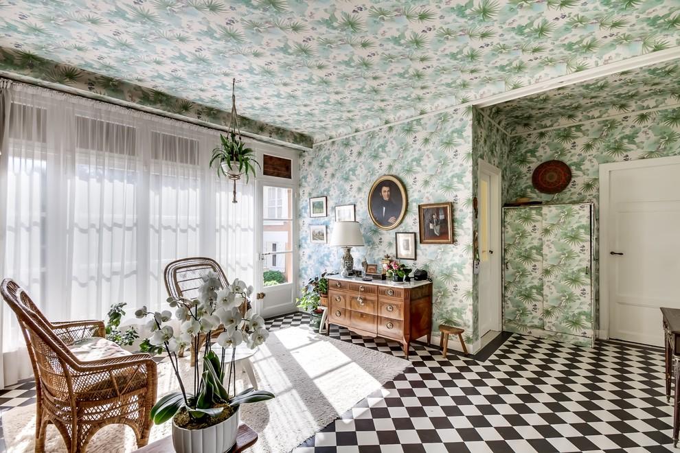 Landhaus Wohnzimmer in Paris