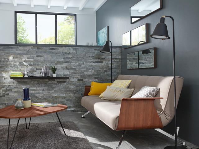 Salon Grange Contemporary Living Room Lille By Castorama
