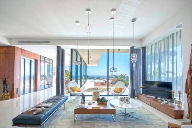 Salon - Modern - Wohnbereich - Nizza - von PhotoLuxe360